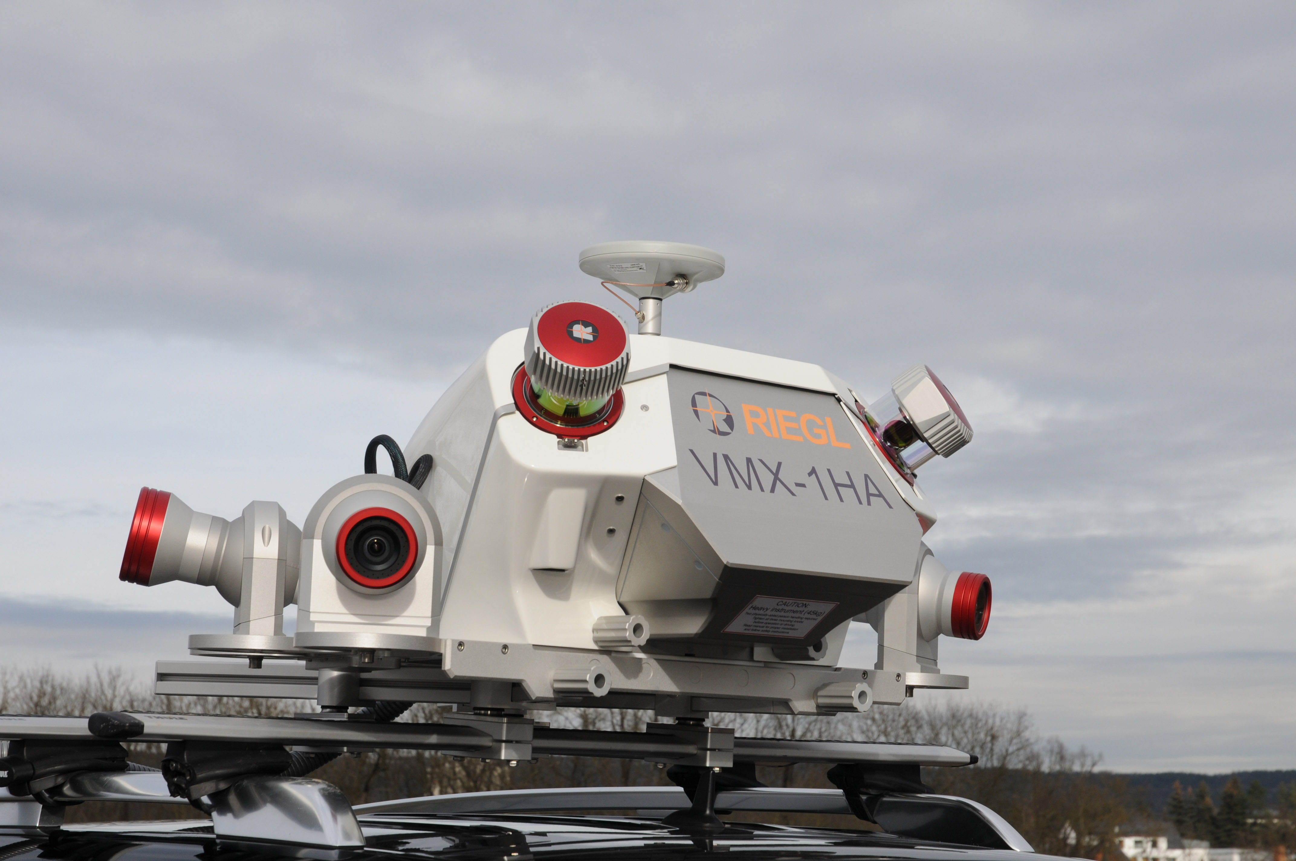 NEW RIEGL High-Speed Mobile Mapping Turnkey Systems in the