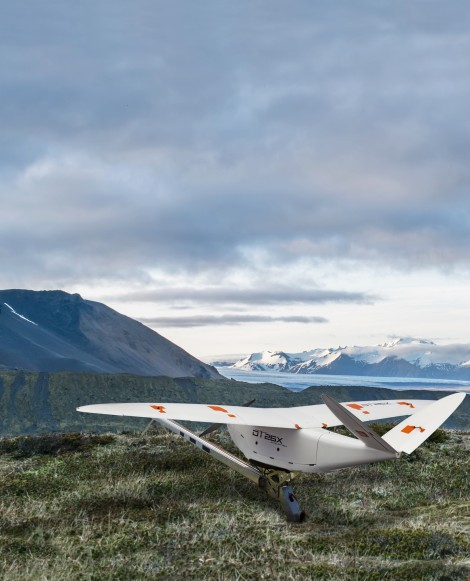 DELAIR INTRODUCES INDUSTRY'S MOST ADVANCED FIXED-WING UAV