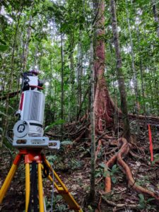 TLS data capture in Robson Creek, AU