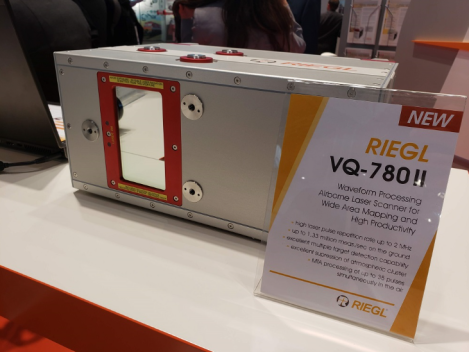 NEW RIEGL INSTRUMENTS AT INTERGEO FEATURED BY SPAR 3D