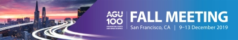 Attending and exhibiting at AGU 2019