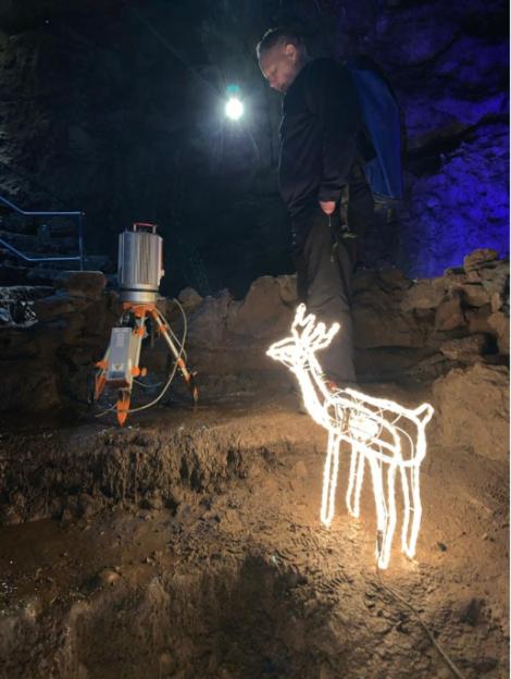 Richard Walters Reindeer Lidar